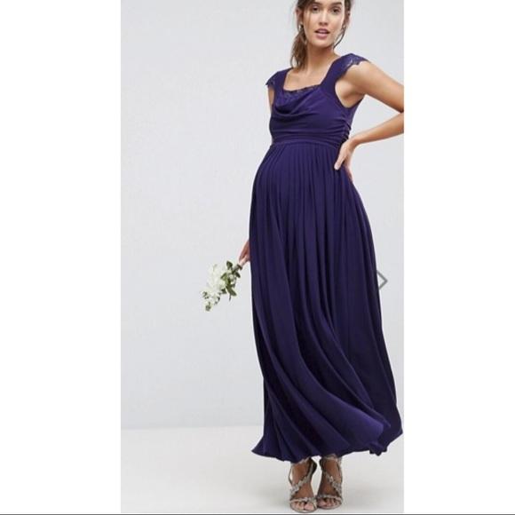 Maternity ASOS party dress